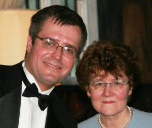 Stanislav with Halina, Countess of Munster