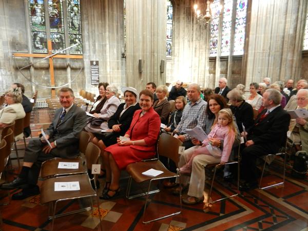APS Members at the Rush Sunday Service